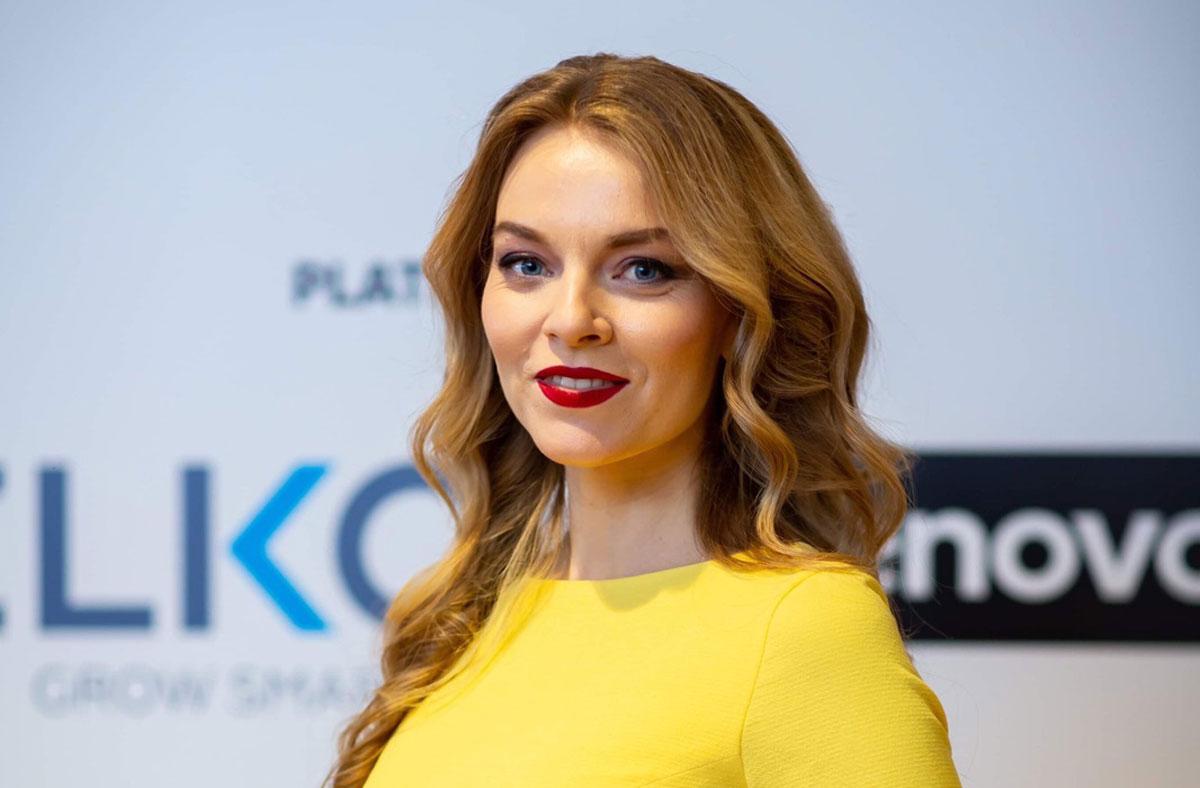 Анна Заклецька ведуча корпоративів